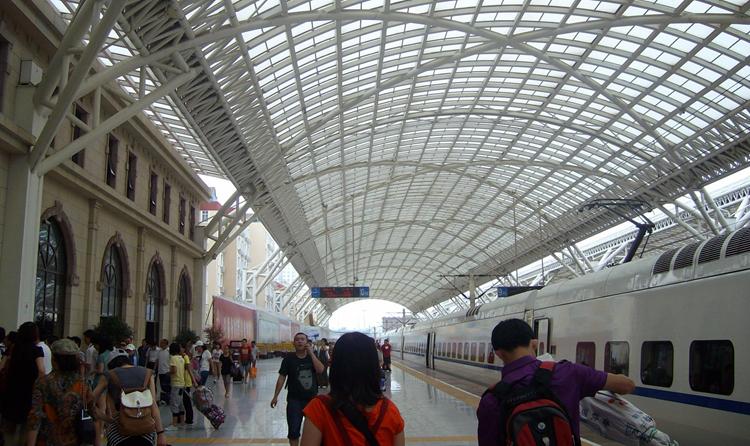 青岛火车站·上海起帆电线