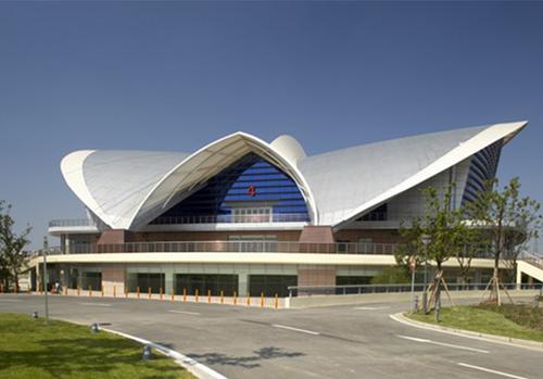 上海闵行体育馆外景