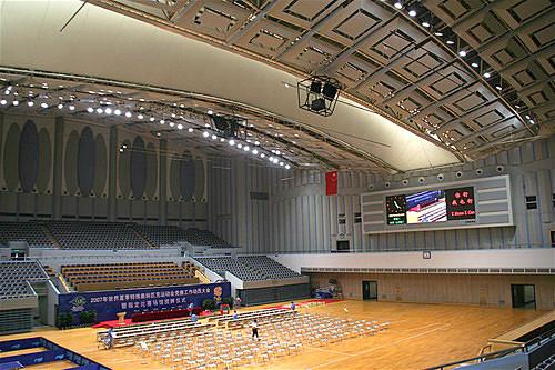 上海闵行体育馆室内